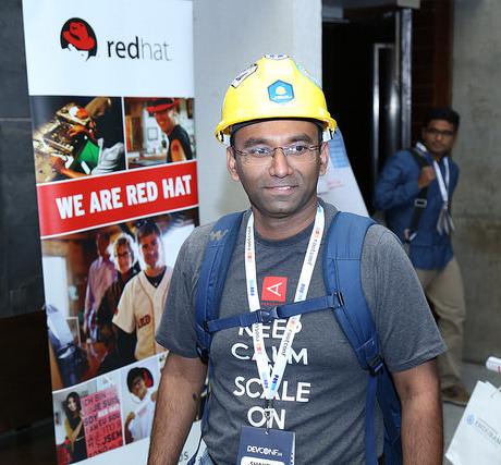 Shakthimaan with Foreman helmet